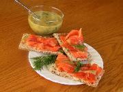 Gravlax & Sweet Mustard Dill Sauce